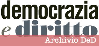 Democrazia e Diritto